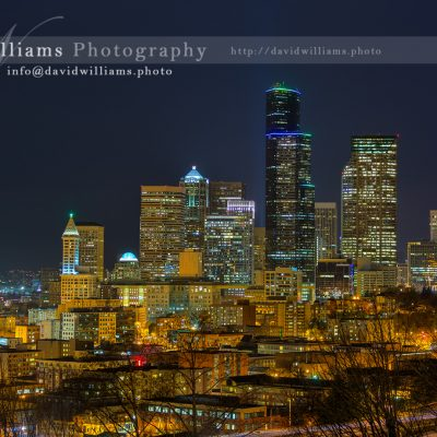 Photo, Photography, Image, Landscape, Print, Canvas, Metal, Seattle, Pike Place Market, Night, Cityscape, Skyline, Seahawks